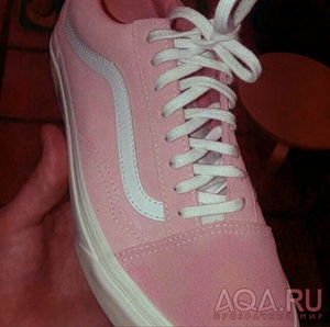 Цветокорректированный кросовок