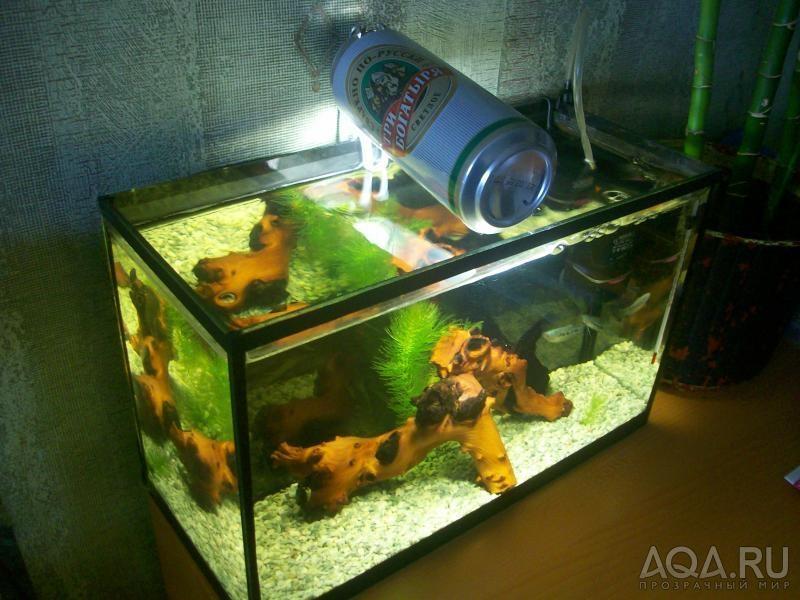 Как сделать лампу для аквариума своими руками