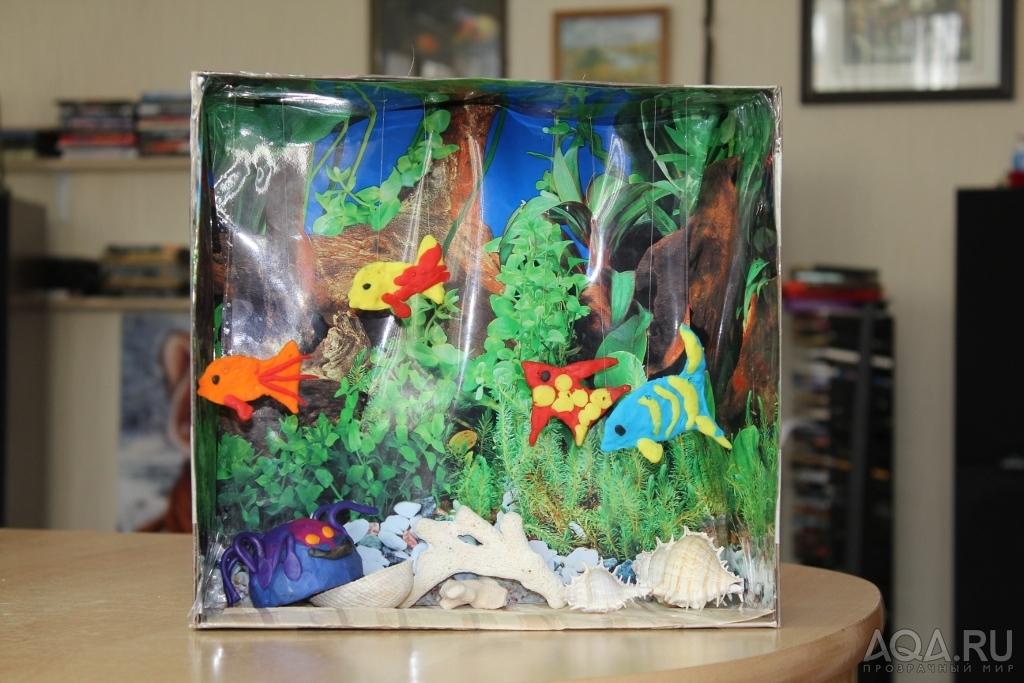 Рыбки для поделки аквариум 165