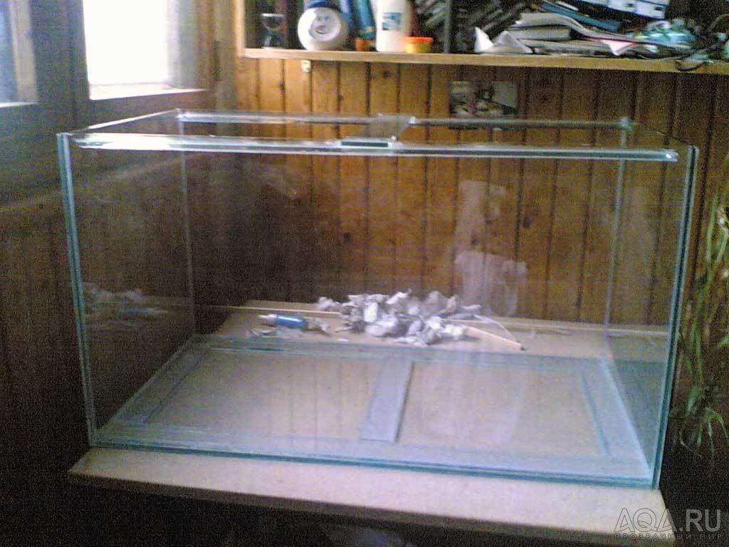 Аквариум 100 литров своими руками фото