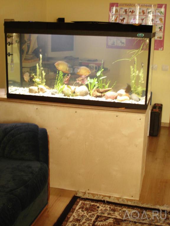 Перегородка для аквариума своими руками