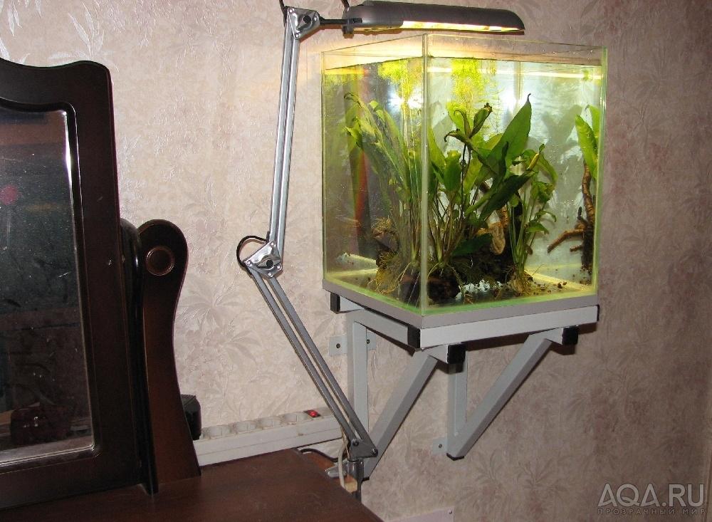 Как сделать подставку под аквариум