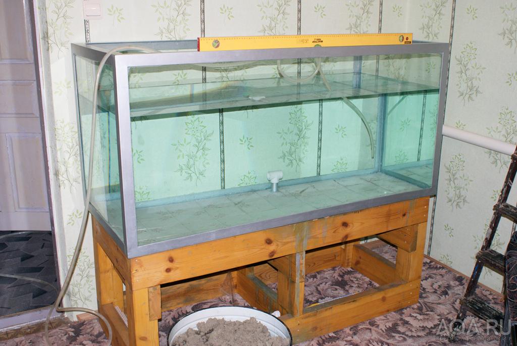 Каркасный аквариум своими руками фото