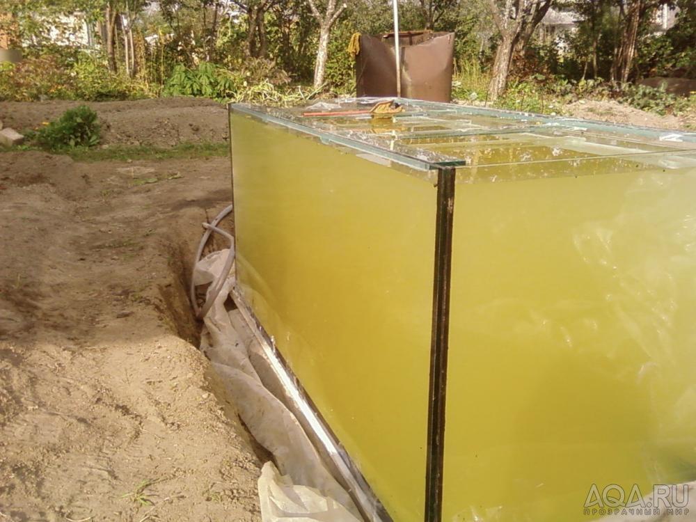 Аквариум своими руками на 500 литров