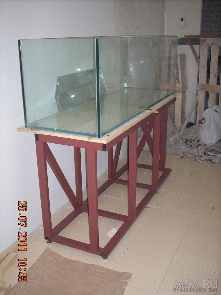 Как сделать тумбу под аквариум 300 литров своими руками