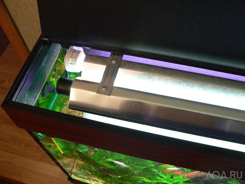 Крышка для аквариума своими руками лампы т5