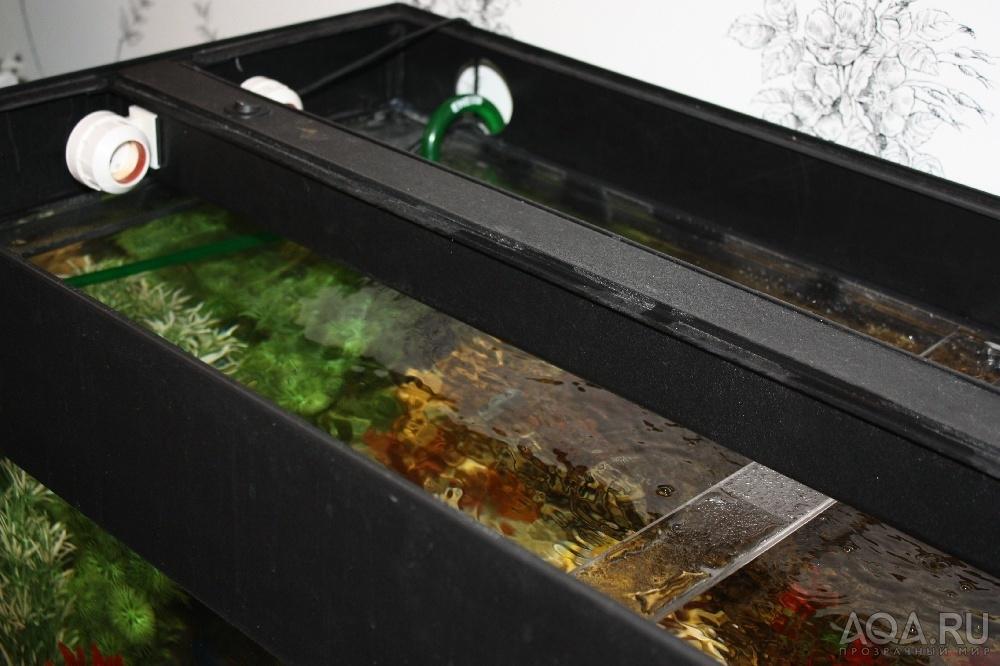 Как сделать крышку с освещением на аквариум