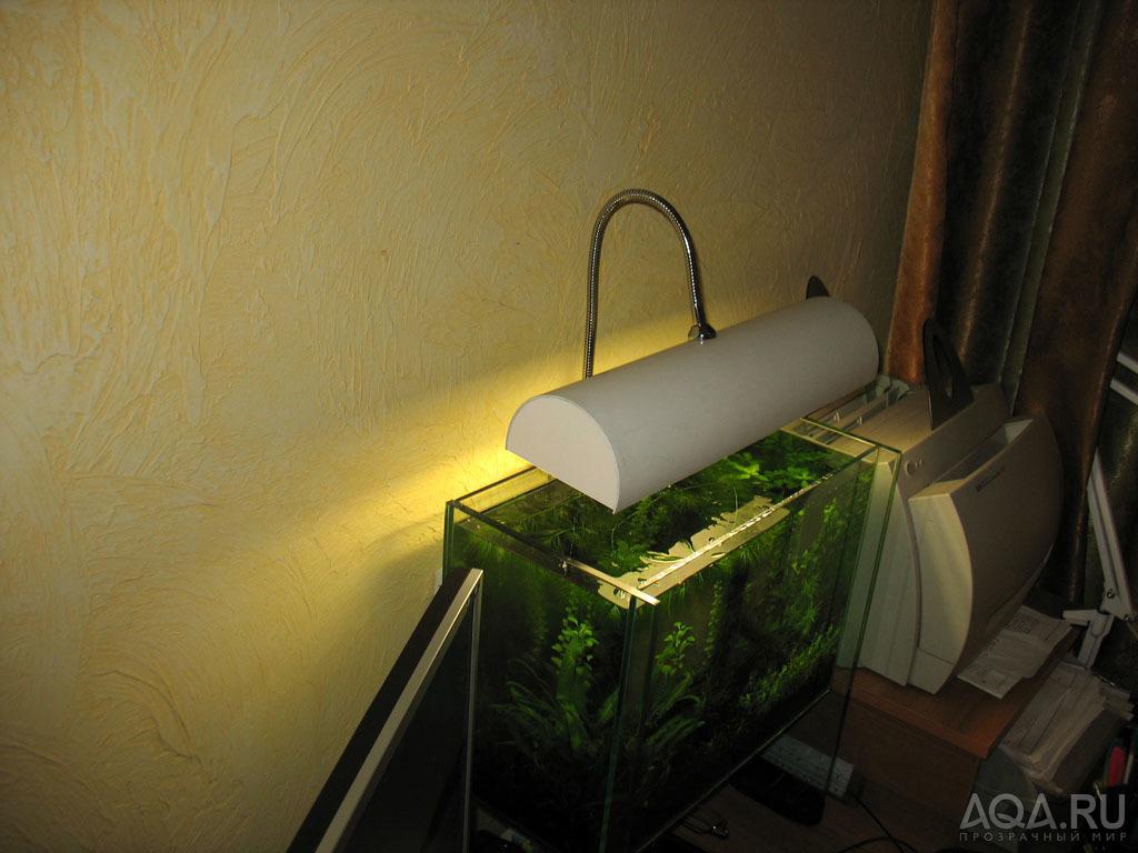 Своими руками светильники для аквариума