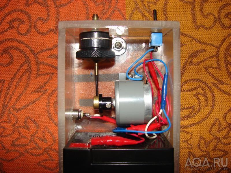 Внешний компрессор для аквариума своими руками