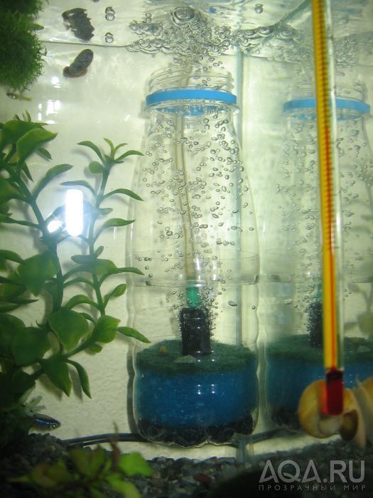 аквариума своими руками для эрлифтный фильтр