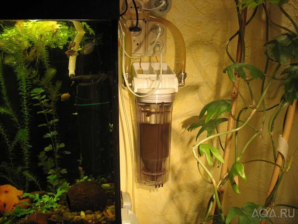 Как с помощью компрессора сделать фильтр для аквариума