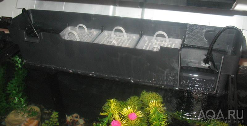 Фильтр в крышку для аквариума своими руками 65