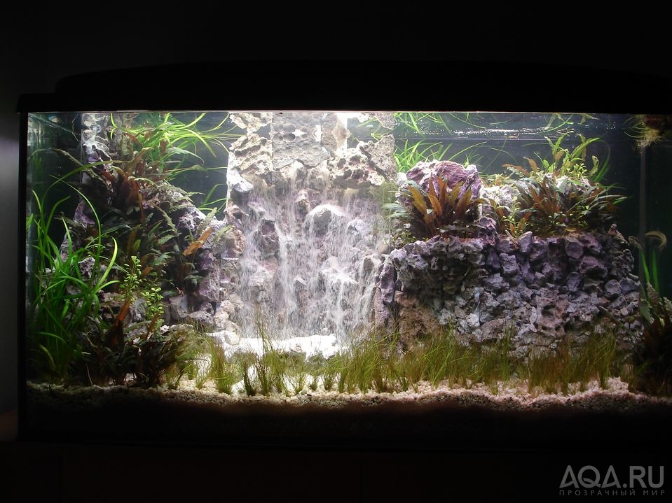 Пескопад в аквариуме своими руками фото