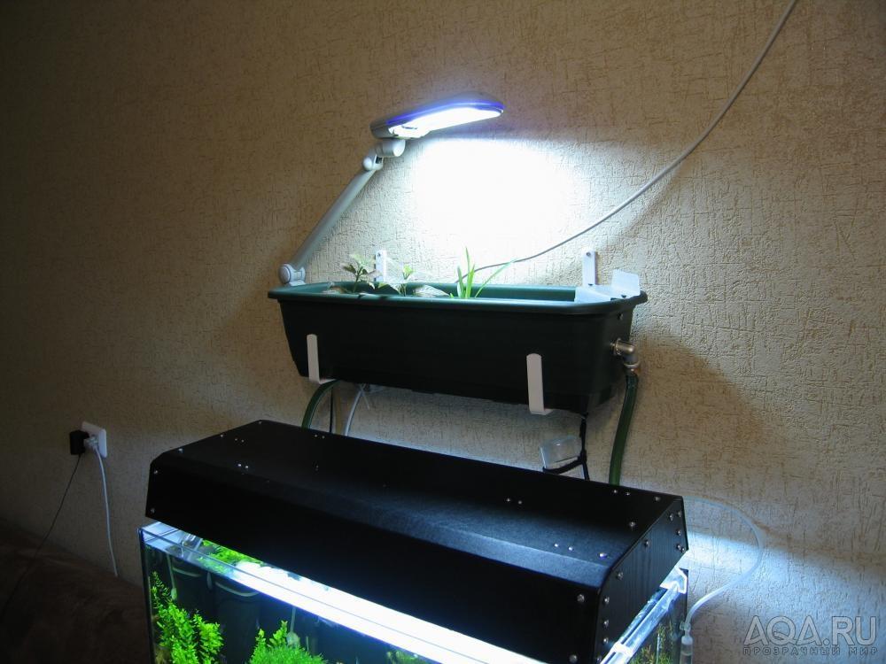 Фильтр в крышку для аквариума своими руками 41