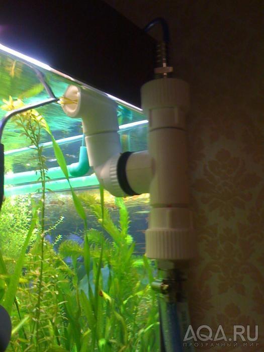 Как сделать в аквариуме протоку