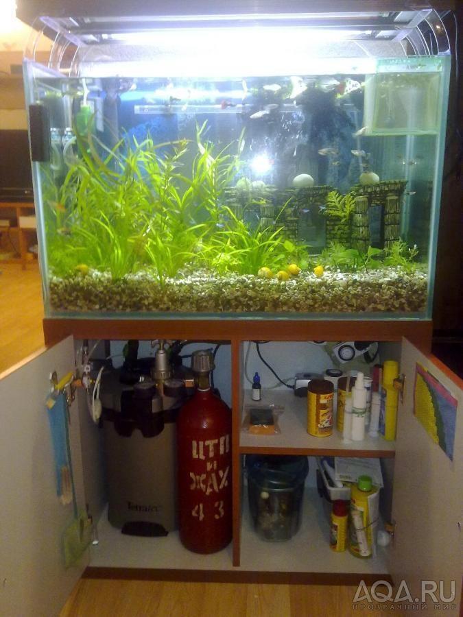 Крышка для аквариума с пластиковых панелей