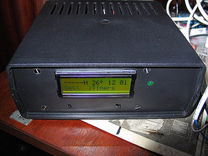Добил полностью 6 канальный таймер для аквариума().  Добавил к нему схему включения и удержания автомобильного...